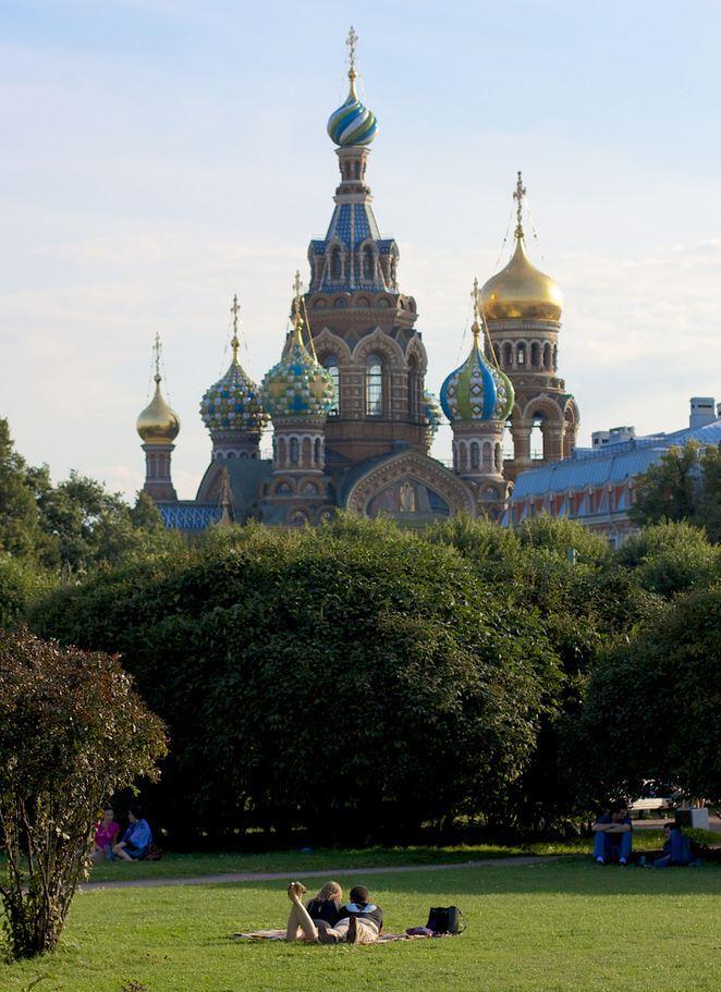 """Saint Petersburg / Russia ."""