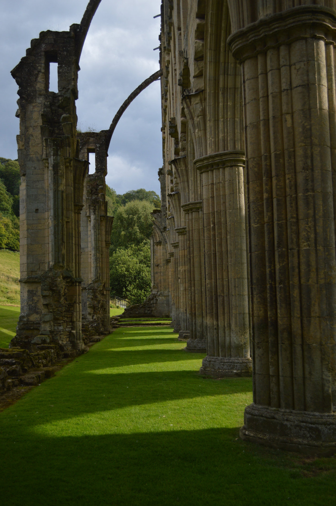 Evening Shadows, Rievaulx Abbey / England