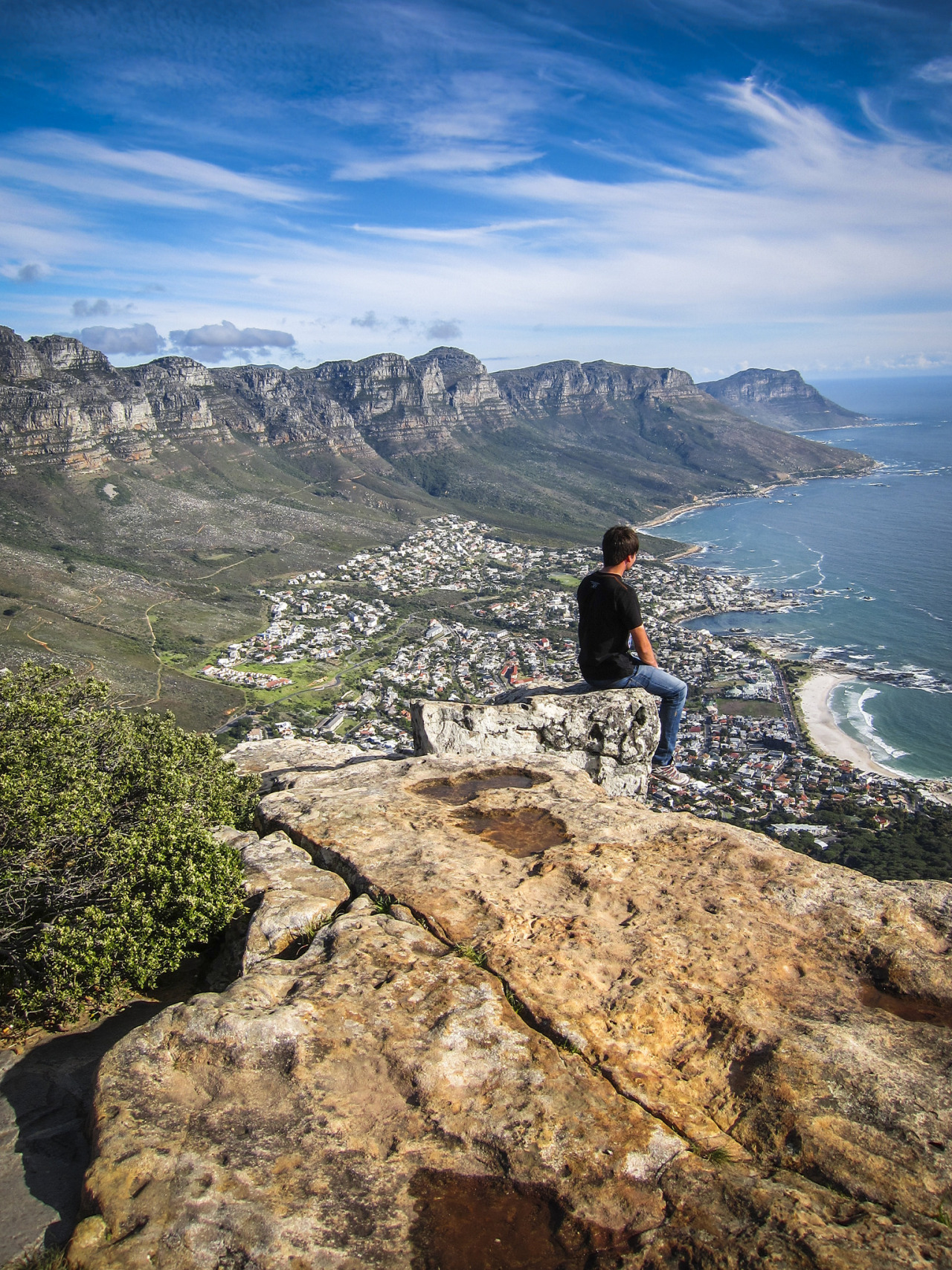 Enjoying the view, Cape Town / South Africa